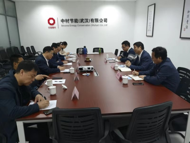Baoding Wangdu County Government Delegation visited Sinoma (Yichang) New Material Production Base and Sinoma Energy (Wuhan) Headquarters